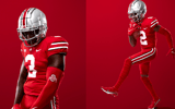 Scarlet Jerseys courtesy Ohio State