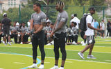 C.J. Hicks and Dasan McCullough at The Opening Finals