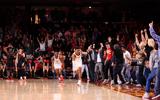 USC basketball fans Galen Center
