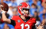 WATCH-Stetson-Bennett-delivers-touchdown-throw-Brock-Bowers-tight-end-Georgia-Bulldogs-Kentucky-Wildcats
