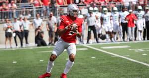 ohio-state-buckeyes-head-coach-ryan-day-provides-injury-update-on-quarterback-cj-stroud-kyle-mccord