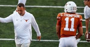 texas-head-coach-steve-sarkisian-play-of-quarterback-casey-thompson-two-qb-system-hudson-card