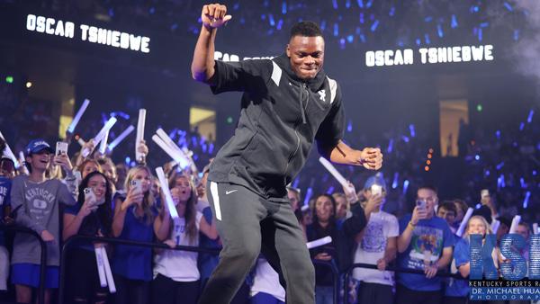 Oscar Tshiebwe Big Blue Madness