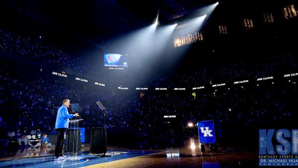 John Calipari Big Blue Madness 2021 Speech