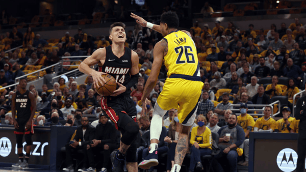 NBA: Tyler Herro goes for 30, KAT and T-Wolves are 2-0
