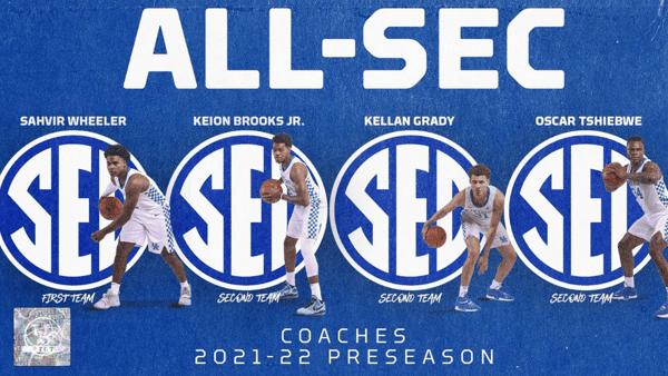 Kentucky All-SEC
