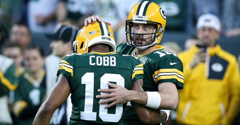 aaron-rodgers-randall-cobb-out-preseason-game-with-texans