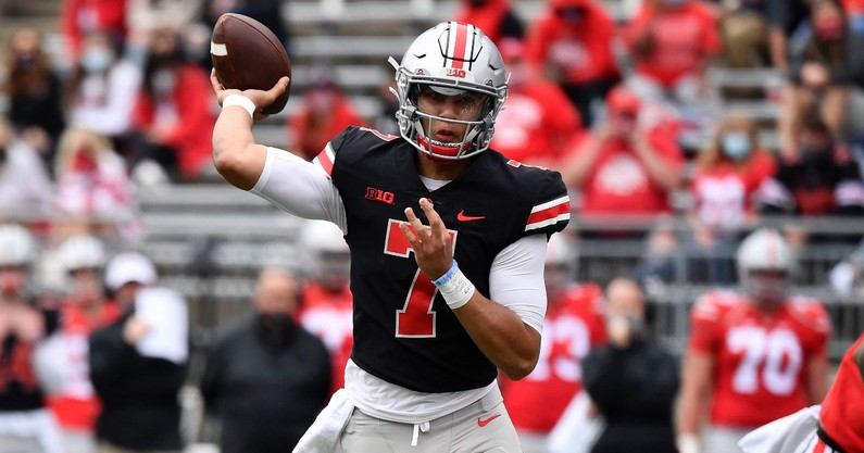 ryan-day-explains-why-cj-stroud-leads-the-quarterback-battle-at-ohio-state