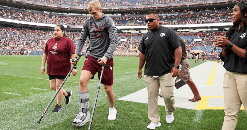 haynes-king-injury-latest-texas-am-quarterback