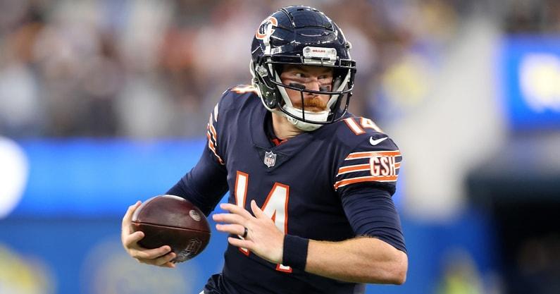 chicago-bears-nfl-andy-dalton-justin-fields-matt-nagy-quarterback-rotation-los-angeles-rams-ohio-sta