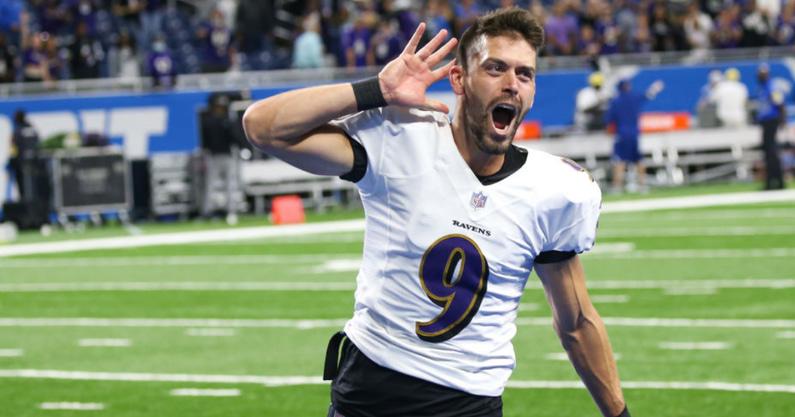 WATCH-Texas-trolls-Texas-AM-after-game-winning-kick-Justin-Tucker-Baltimore-Ravens