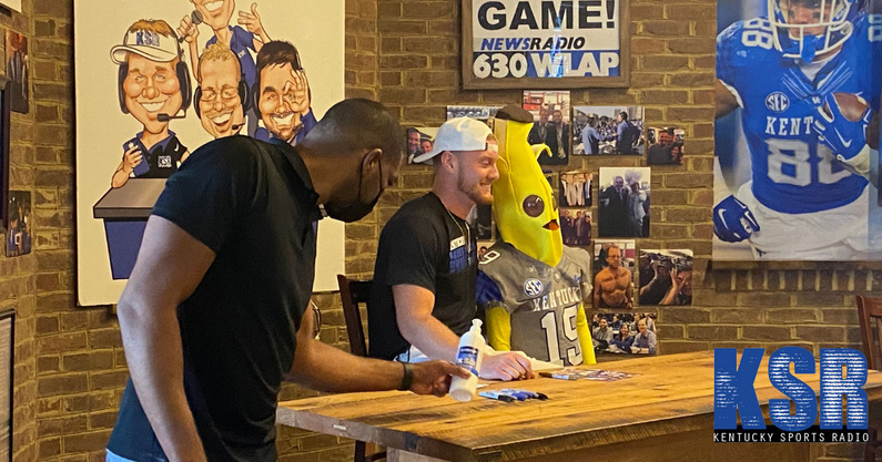 look-will-levis-signed-autographs-ksbar-grille-sunday