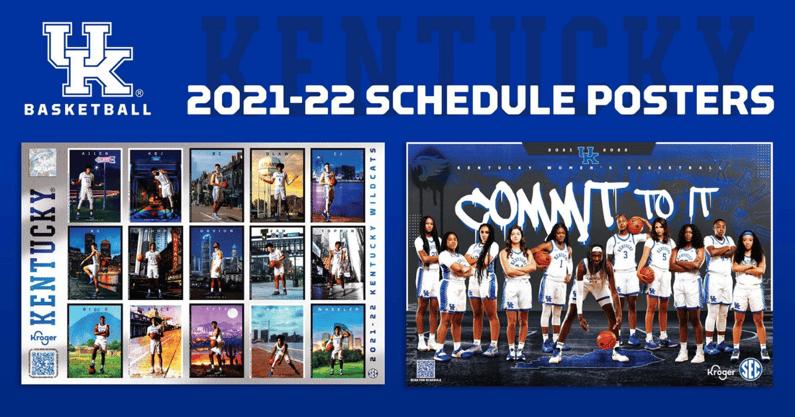 kentucky-mens-womens-basketball-2021-22-schedule-posters