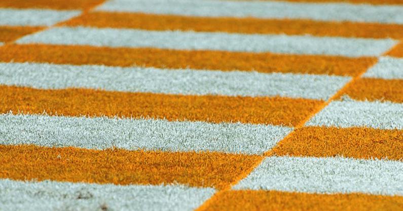 Ole-Miss-Rebels-football-trolls-Tennessee-Volunteers-checkerboard-theme-Neyland-Stadium