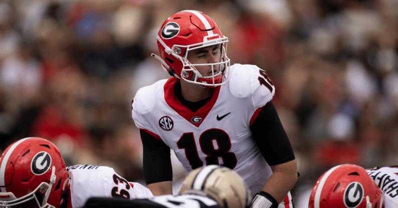 Kirby-Smart-evaluates-QB-tandem-Stetson-Bennett-JT-Daniels-Georgia-Bulldogs