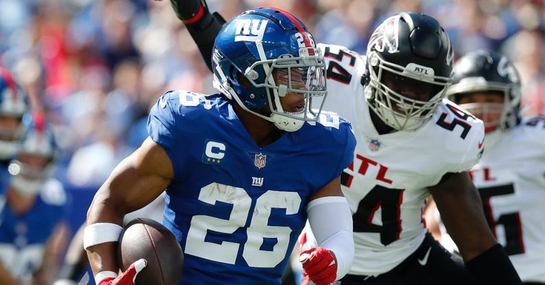 new-york-giants-former-penn-state-nittany-lions-saquon-barkley-addresses-his-injury-feelings-when-the-cart-came-out