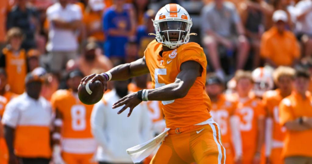Josh-Heupel-praises-backup-quarterback-Hendon-Hooker-gives-personal-insight-Tennessee