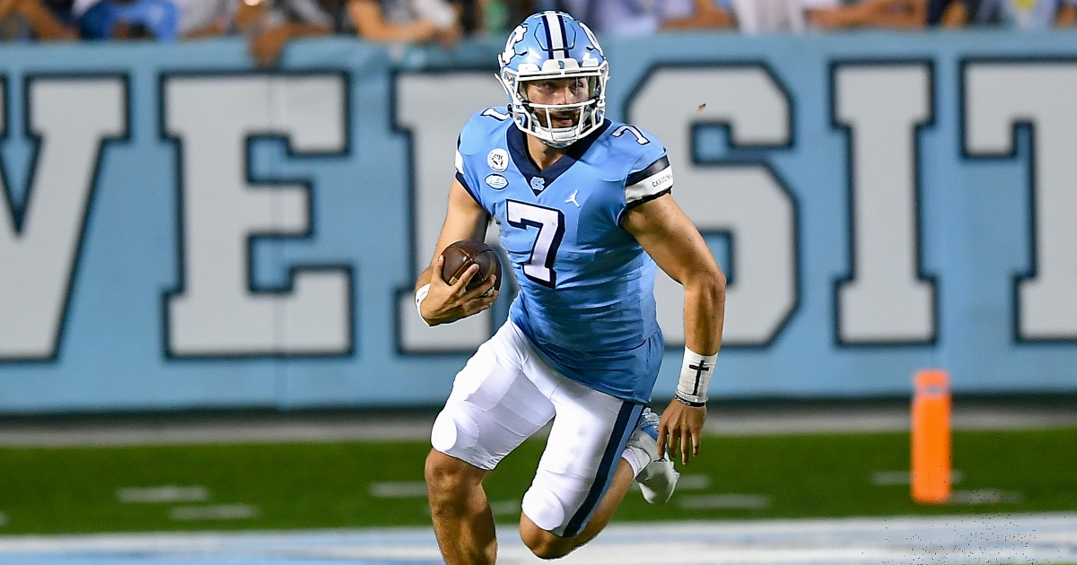 UNC's Sam Howell matches Lamar Jackson with crazy stat