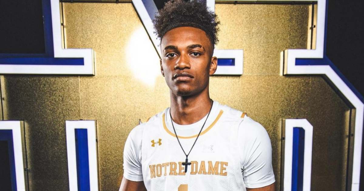 4-Star Guard J.J. Starling Commits To Notre Dame